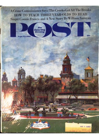 Saturday Evening Post, September 23 1961
