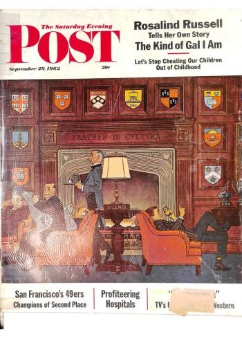 Saturday Evening Post, September 29 1962