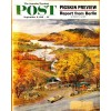 Cover Print of Saturday Evening Post, September 9 1961