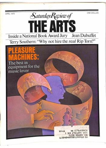 Saturday Review, April 1973