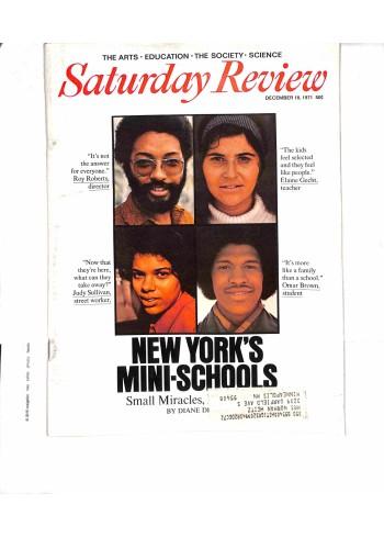 Saturday Review, December 18 1971