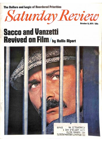 Cover Print of Saturday Review, October 9 1971