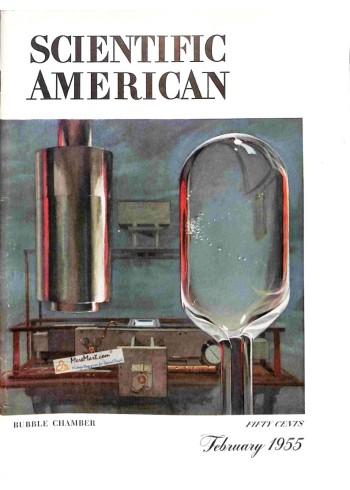 Cover Print of Scientific American, February 1955