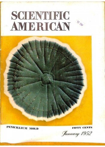 Cover Print of Scientific American, January 1952