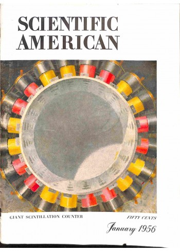 Cover Print of Scientific American, January 1956