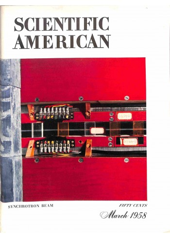 Cover Print of Scientific American, March 1958