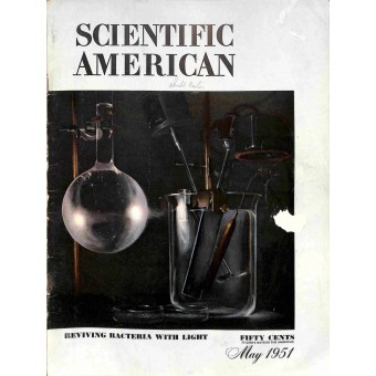 Cover Print of Scientific American, May 1951