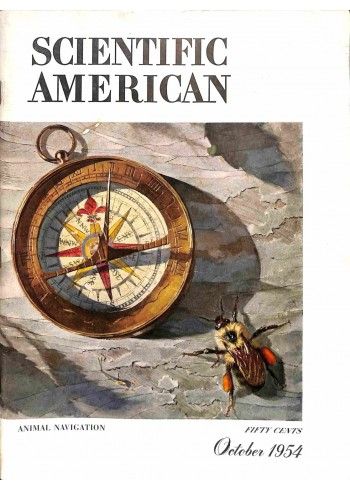 Cover Print of Scientific American, October 1954