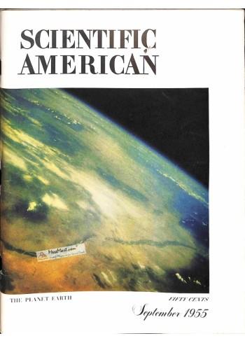 Cover Print of Scientific American, September 1955