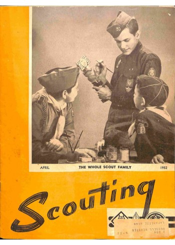 Cover Print of Scouting, April 1952