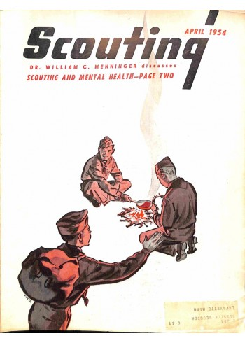 Cover Print of Scouting, April 1954