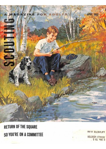 Cover Print of Scouting, April 1963