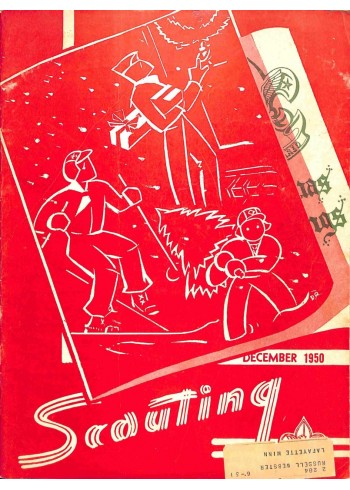 Cover Print of Scouting, December 1950