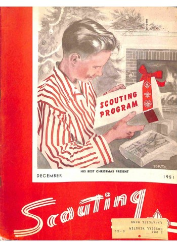 Cover Print of Scouting, December 1951