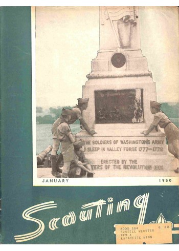 Cover Print of Scouting, January 1950