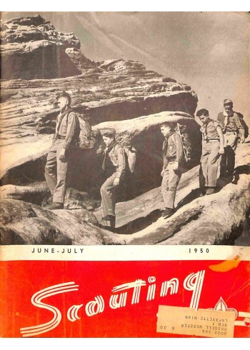 Cover Print of Scouting, June 1950