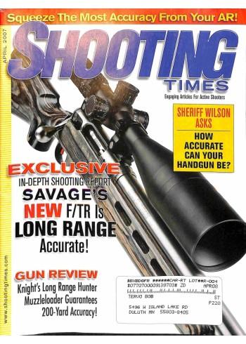 Shooting Times, April 2007