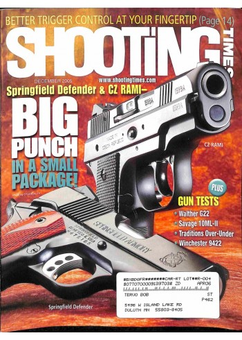 Shooting Times, December 2005
