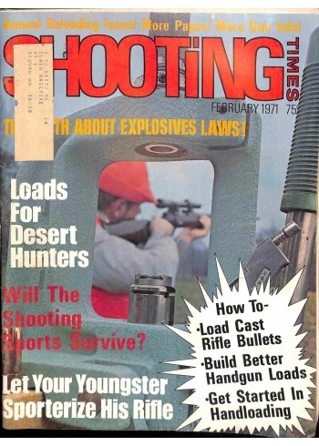 Cover Print of Shooting Times, February 1971
