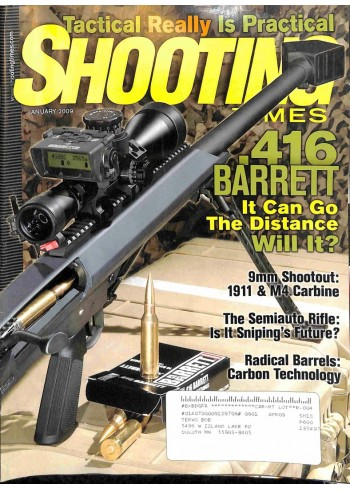 Cover Print of Shooting Times, January 2009