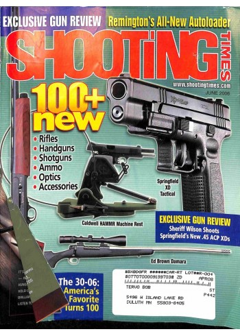 Cover Print of Shooting Times, June 2006
