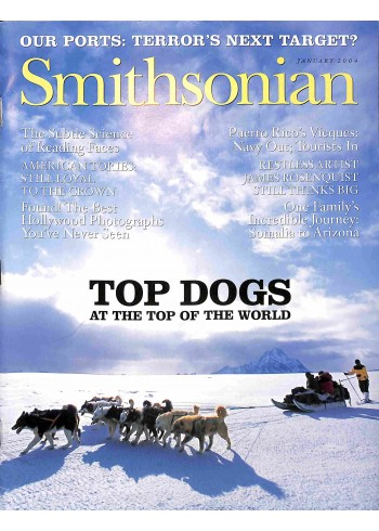 Cover Print of Smithsonian, January 2004