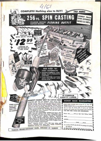 Cover Print of Sports Afield, April 1961