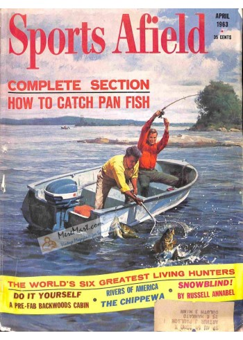 Cover Print of Sports Afield, April 1963