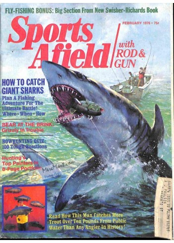 Cover Print of Sports Afield, February 1976