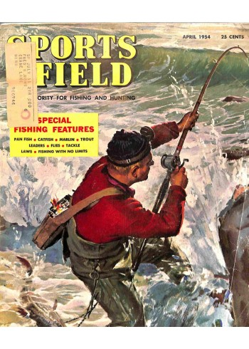 Cover Print of Sports Afield, April 1954