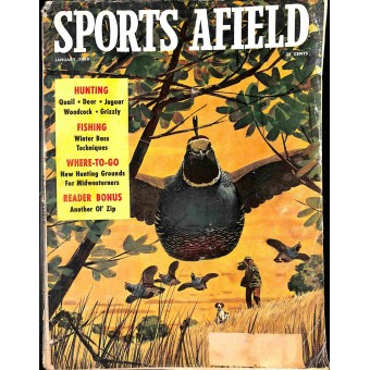 Sports Afield, January 1958