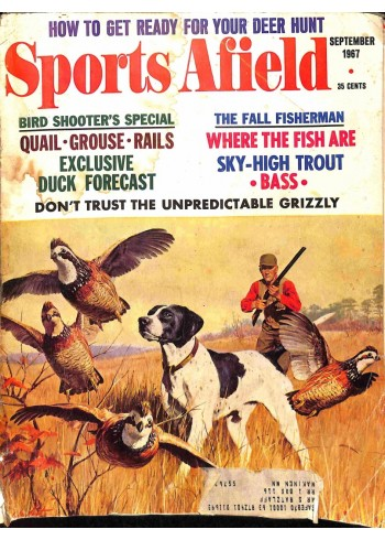 Cover Print of Sports Afield, September 1967