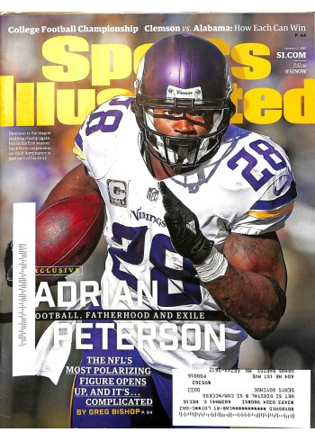 Cover Print of Sports Illustrated, January 11 2016
