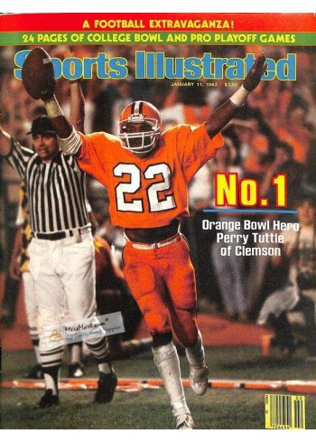 Sports Illustrated, January 11 1982