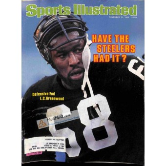 Cover Print of Sports Illustrated Magazine, November 10 1980