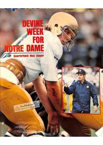 Sports Illustrated, September 29 1975