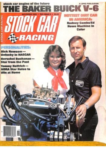 Cover Print of Stock Car Racing, November 1980