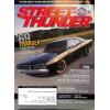 Cover Print of Street Thunder, January 2010