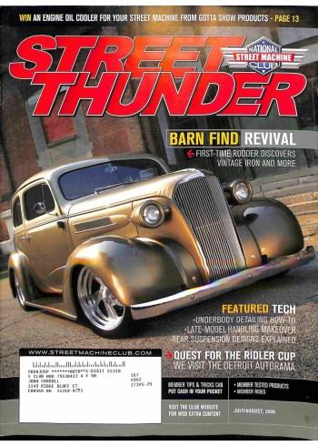 Cover Print of Street Thunder, July 2008
