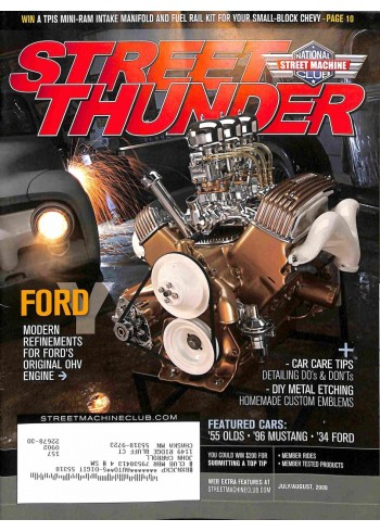 Cover Print of Street Thunder, July 2009