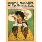 Sunday Magazine, February 10, 1907. Poster Print. E.M. Wireman.