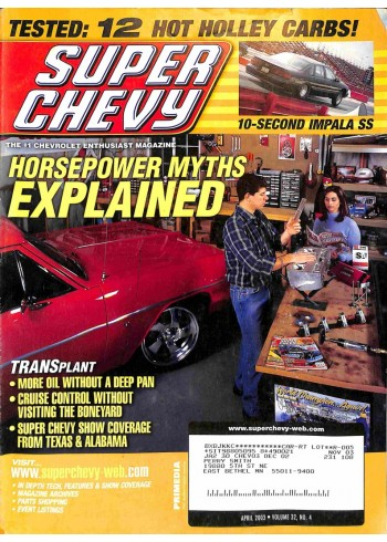 Super Chevy, April 2003