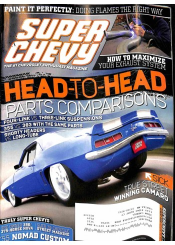 Super Chevy, August 2010
