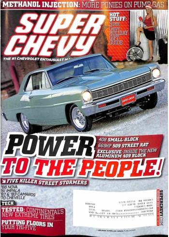 Super Chevy, December 2009