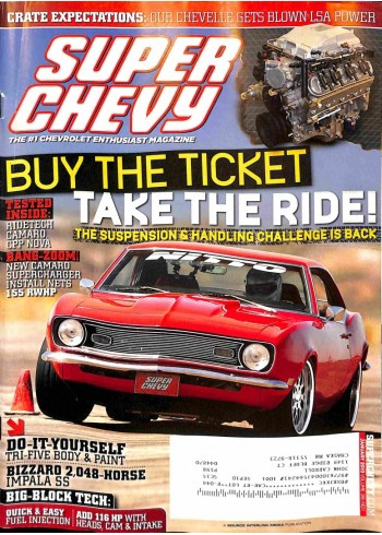 Cover Print of Super Chevy, January 2010
