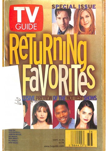 TV Guide, September 4 1999