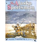 Cover Print of The Alaska Sportsman, January 1955