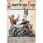The American Boy, October, 1916. Poster Print. Clarke.
