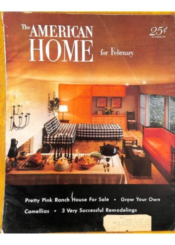 Cover Print of The American Home, February 1953