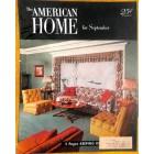 The American Home, September 1952